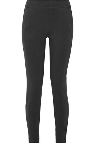 leggings cotton black pants