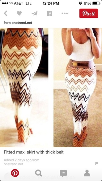 dress brown chevron knit maxi