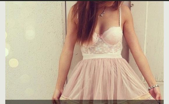 corset top pink dress