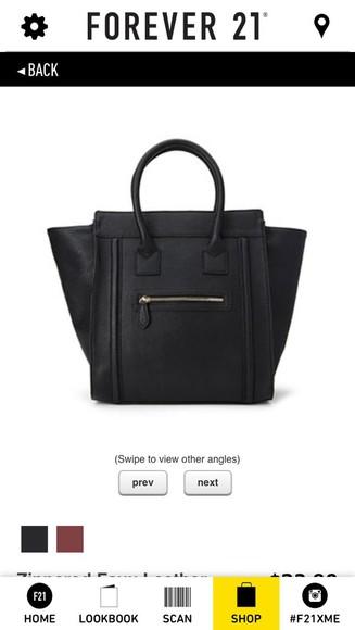 celine bag black style