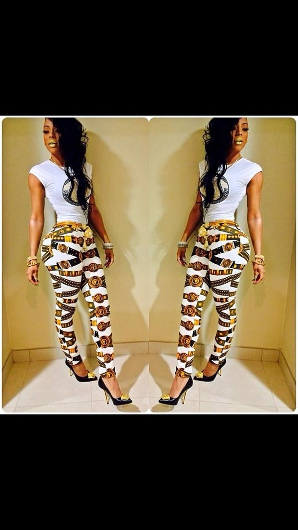 pants keyshia kaoir