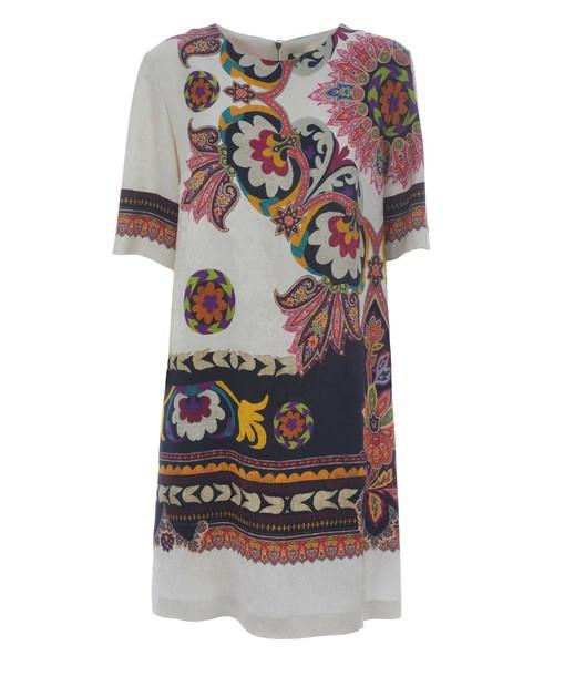 ETRO dress print dress floral print multicolor