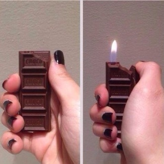 jewels lighter fire hershey smoke chocolate chocolate bar