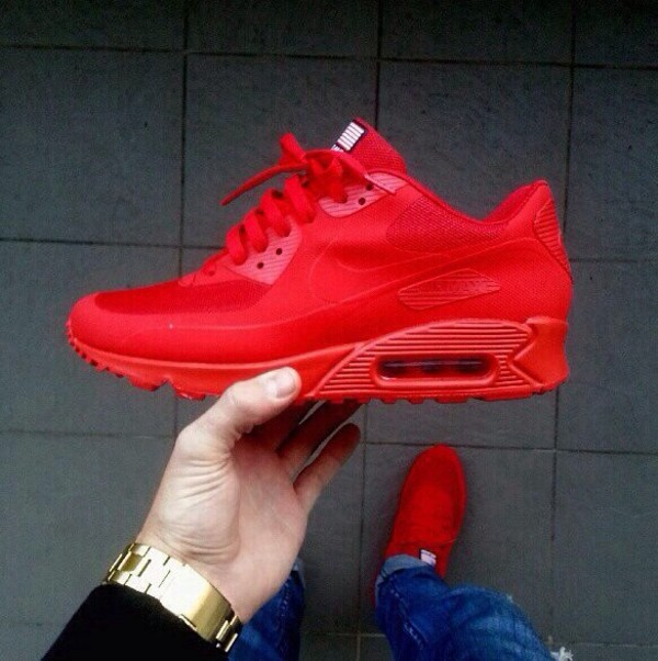 shoes blouse red shoes nike running shoes red nike bright red red nike shoes nike nike air nike sneakers nike air max 90 all red mens shoes kids shoes american flag nike air max 1