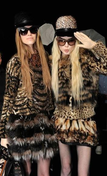 animal print jacket coat fashion