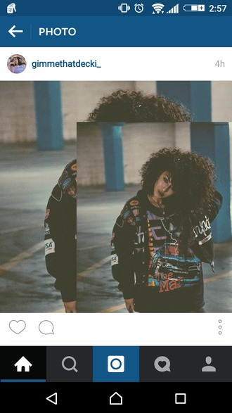 jacket swag urban dope streetwear oversized curly hair 90s style vintage retro t-shirt black beautiful shirt
