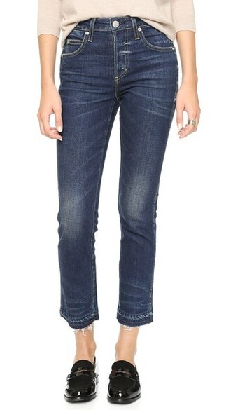 jeans cropped jeans cropped babe blue