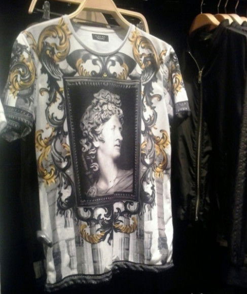 cool t-shirt art shirt white