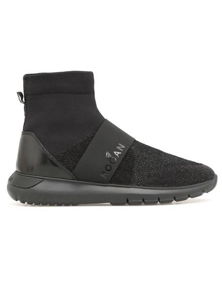 Hogan Interactive3 Slip On Sneaker in black