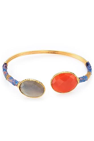 gold multicolor jewels