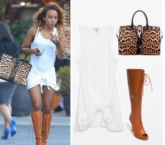 white dress karrueche summer dress