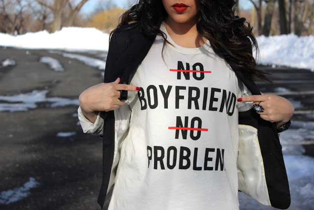 A Love Affair With Fashion : No Boyfriend No Problem