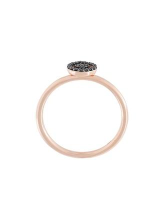 diamond ring mini women ring black jewels