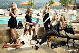 britt robertson yvonne strahovski anna torv under the dome ringer maggie q sarah michelle gellar jennifer morrison the secret circle dress black black dress once upon a time nikita chuck taylor all stars pool cover magazine actress dress black