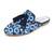 Jeffrey Campbell Apfel Embroidered Tassel Mules - Dark Blue Denim