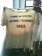 comme des garcons,1995,shirt