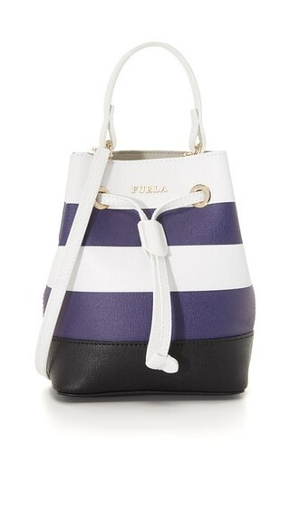 mini bag bucket bag navy