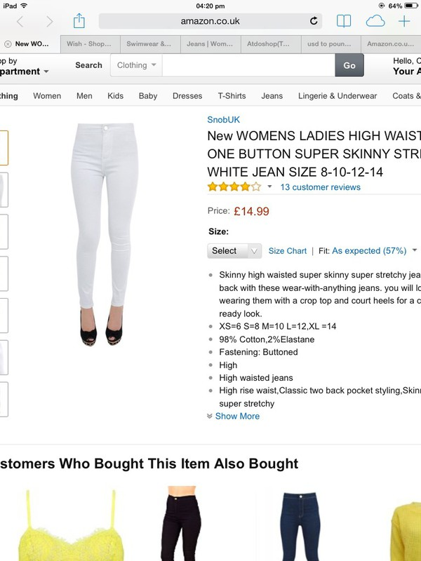 jeans white jeans amazon skinny jeans