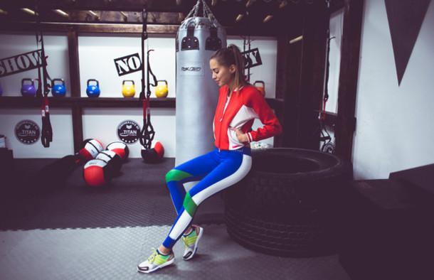 kenza blogger sportswear boxing