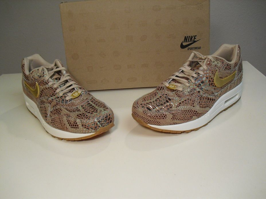 quality design b03d1 f870d New Women s Nike Air Max 1 QS YOTS Year of the Snake size 9 Snake skin ...