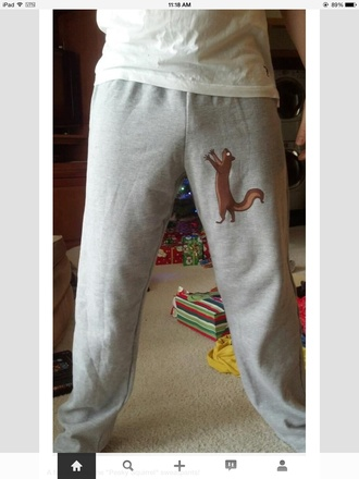 jeans sweatpants gray style nuts joggers