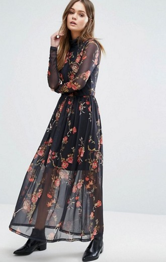 dress mesh dress