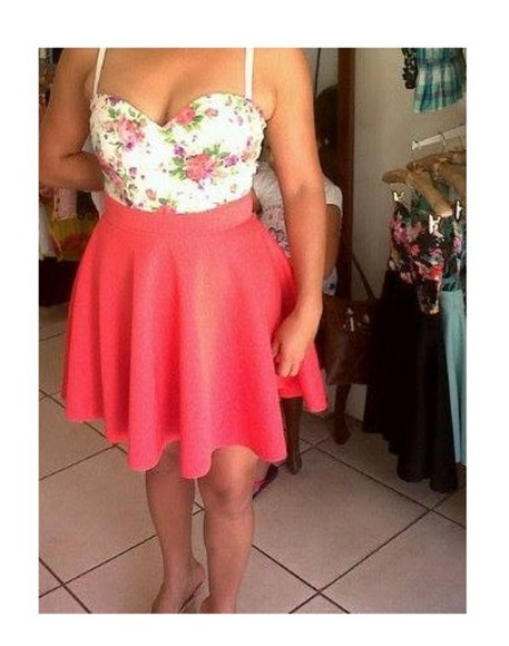 dress strapless skater dress
