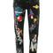 Dolce & gabbana - boyfriend planets printed jeans - women - cotton/calf leather/polyamide/metallic fibre - 36, cotton/calf leather/polyamide/metallic fibre