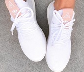 shoes,white,pink,adidas