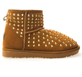 shoes brown shoes jackyfashions studs followme