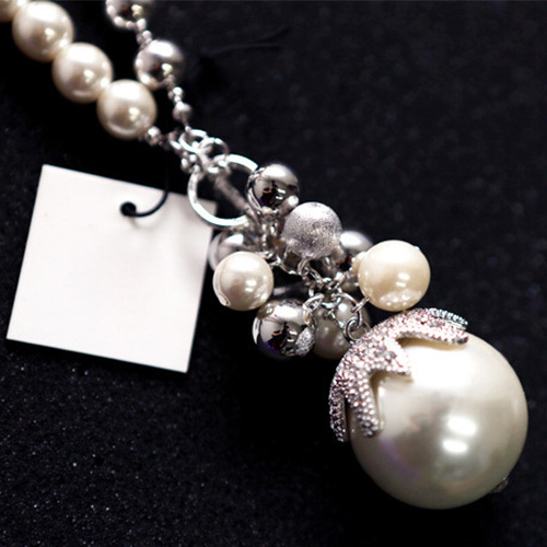 [grxjy5100345]fashion pearl pendant necklace