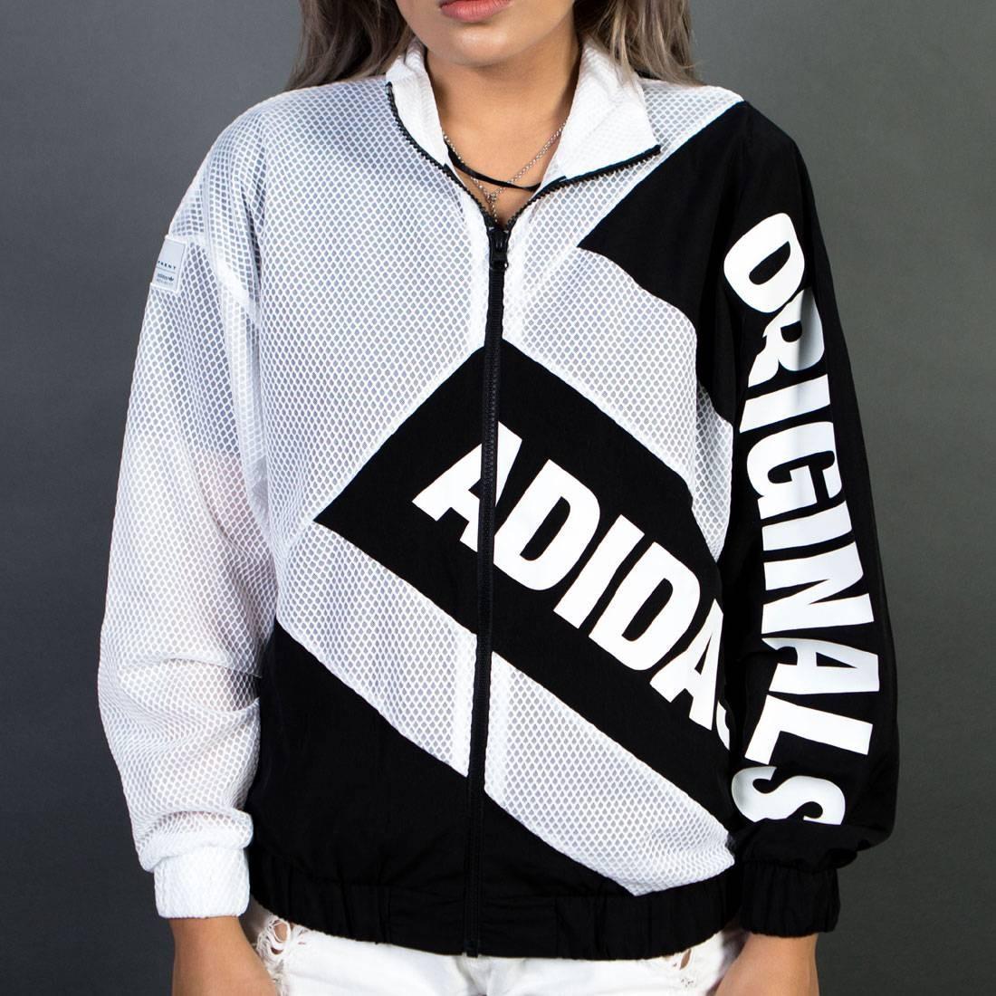Adidas Women Mesh Track Jacket (white / black)