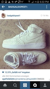 shoes,nike air force 1,python,python print,white sneakers