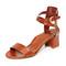 Marion parke brett city sandals - cognac