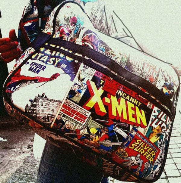 bag marvel The Avengers marvel superheroes geek spider-man x-men comics
