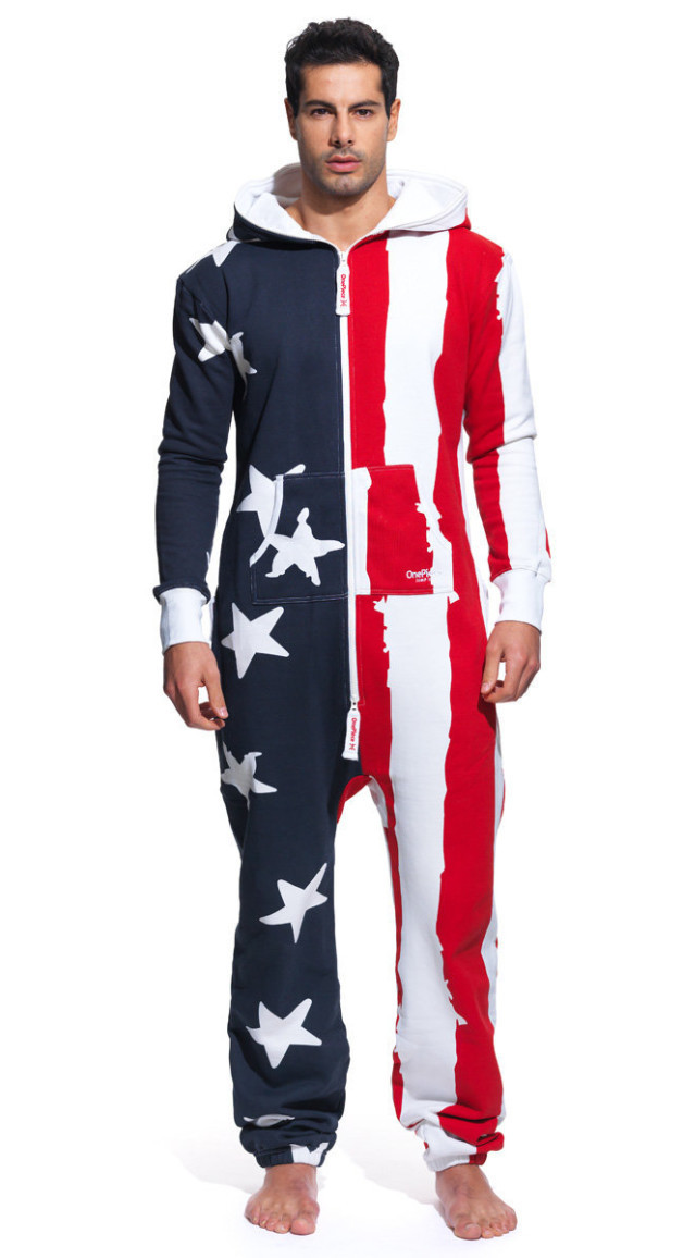 OnePiece USA Onesie Stars and Stripes - USA Onesie