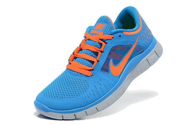 Fashionable Nike Free Run  3 Womens Jade Orange