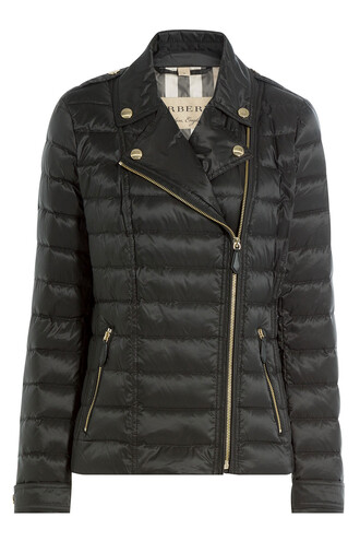 jacket biker jacket quilted black