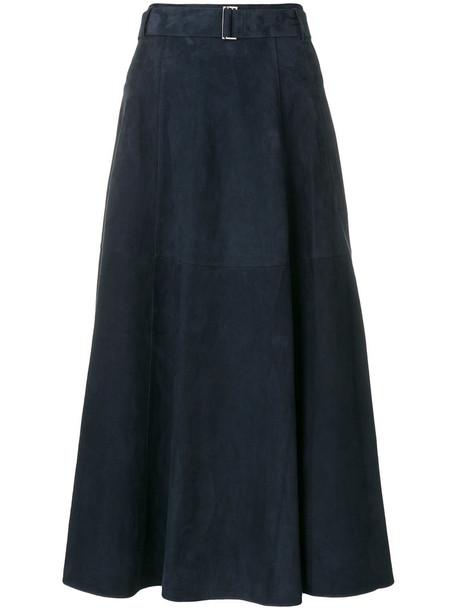'S Max Mara skirt maxi skirt maxi women blue