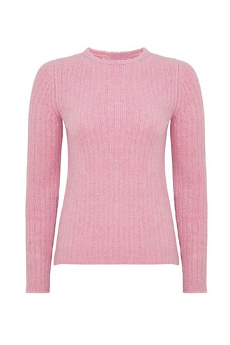 sweater pink sweater alexa chung pink