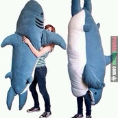 dress,pants,camping,bag,blue,shark,teddy,teddy bear,cute,tumblr,tumblr girl,cool,sweater,pillow,huge,shark slepping bag,hat,sleeping bag,whale,stuffed animal,shoes,funny,pajamas,sleep,top,plush cuddle buddy,home accessory,giant,big,ocean,clothes,giant teddy bear