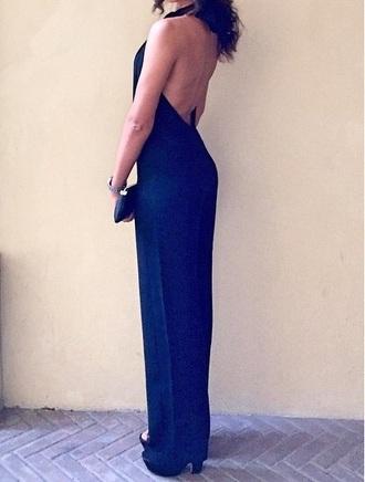 jumpsuit black jumpsuit elegant met gala fashion