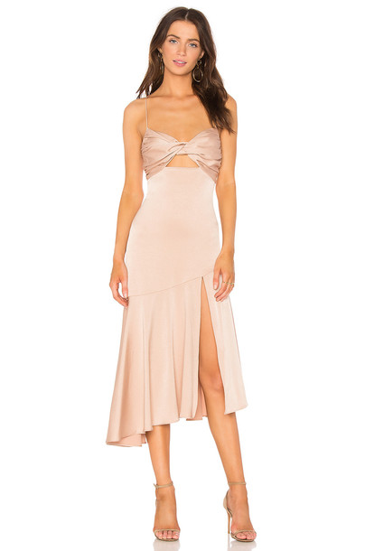 Misha Collection dress blush
