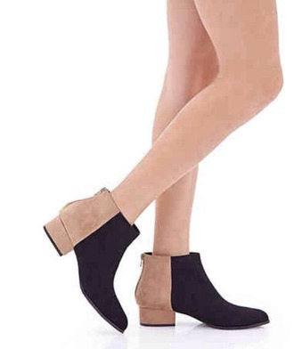 shoes ankle boots black forever 21