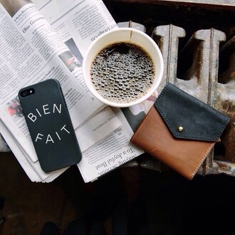 phone cover on point clothing phone iphone cover iphone 5 case iphone iphone case iphone 4 case wallet quote on it coffee tumblr cool girl blogger pretty beautiful women gorgeous fashionista technology