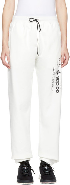 ADIDAS ORIGINALS BY ALEXANDER WANG pants white