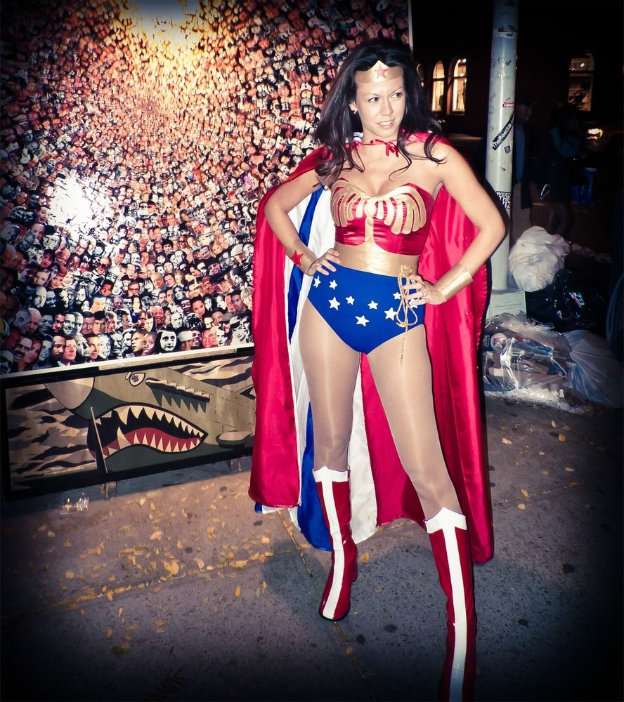Custom Corset Wonder Woman Halloween Cosplay costume 2014