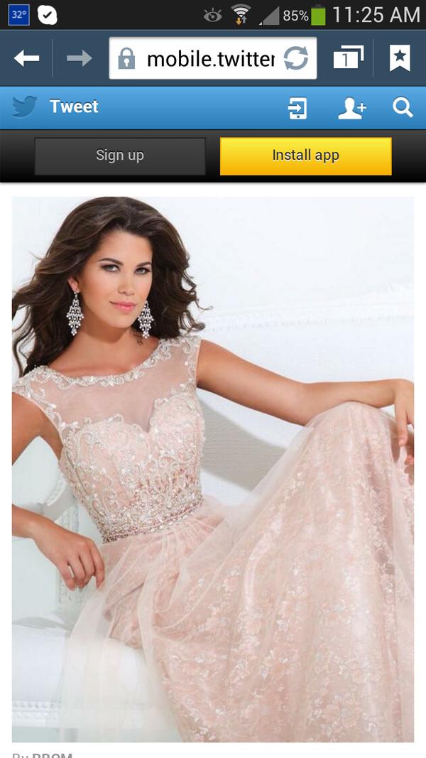 dress prom dress long prom dress pink long dress long prom dress beautiful light pink light pink dress