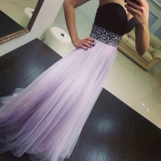 dress purple dress sequin prom dress strapless dress