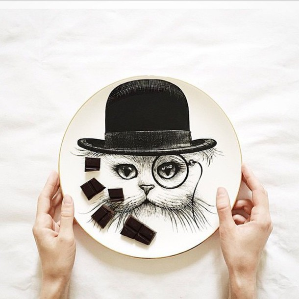 home accessory rory dobner cats hipster kitchen plate furniture avant garde style dinnerware home decor gift ideas best gifts